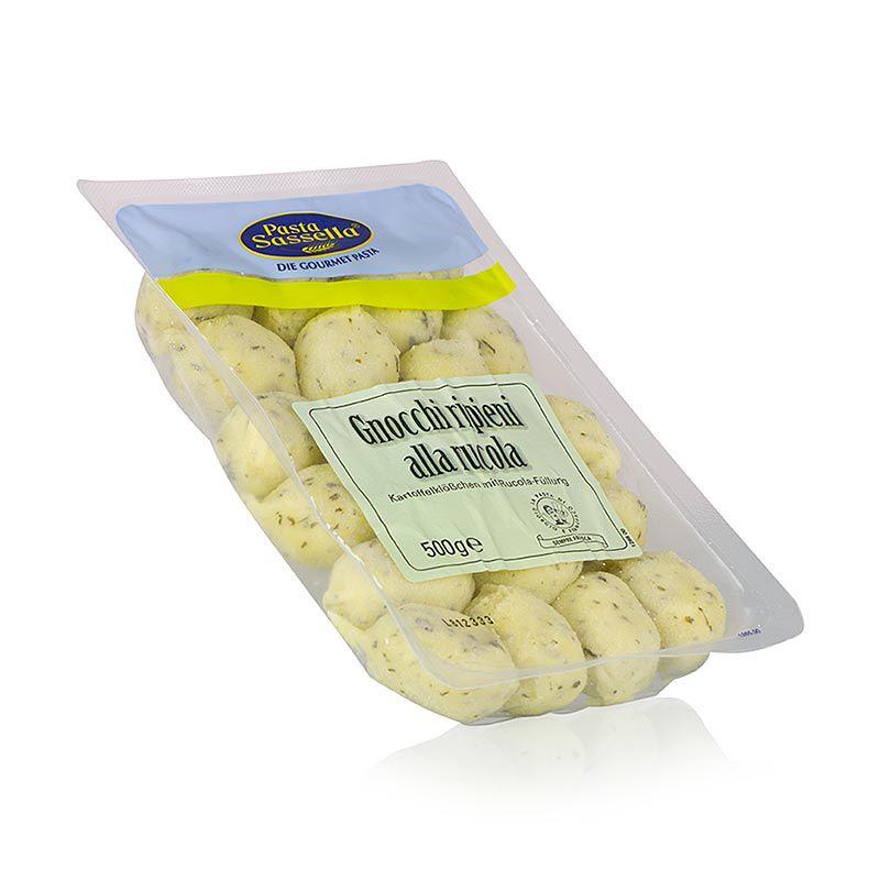 Gnocchi alla Rucola, ricottával és rucolatöltéssel, SASSELLA 500 g