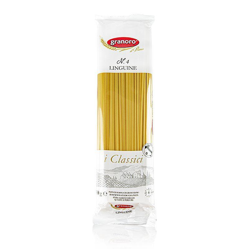 Granoro Linguine, szalag tészta, 2mm, No. 4  (500 g)