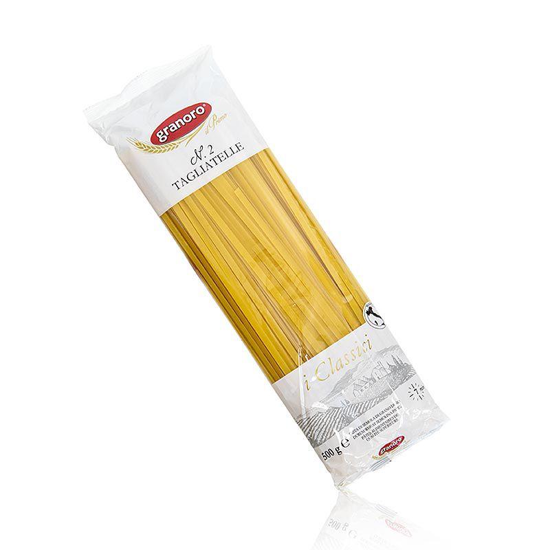 Granoro Tagliatelle, egyenes szalagos tészta, 5 mm, No.2.  (500 g)