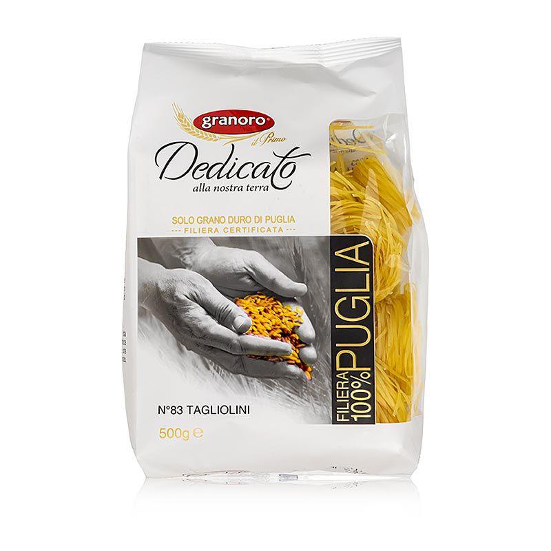 Granoro Delicato Tagliolini Nidi, 2 mm, szalagos tésztafészek, No.83.  (500 g)