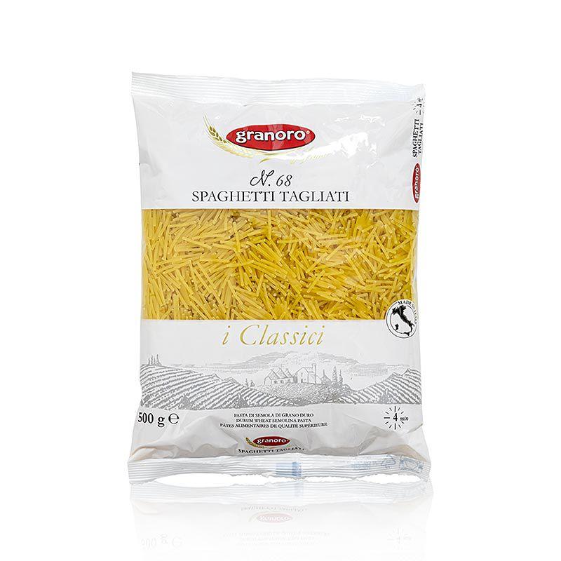 Granoro Vermicelli Tagliati, vékony rövid cérnametélt, No.68.   (500 g)