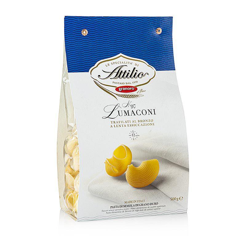 Granoro Lumaconi, tészta töltelékhez, No. 97  (500 g)