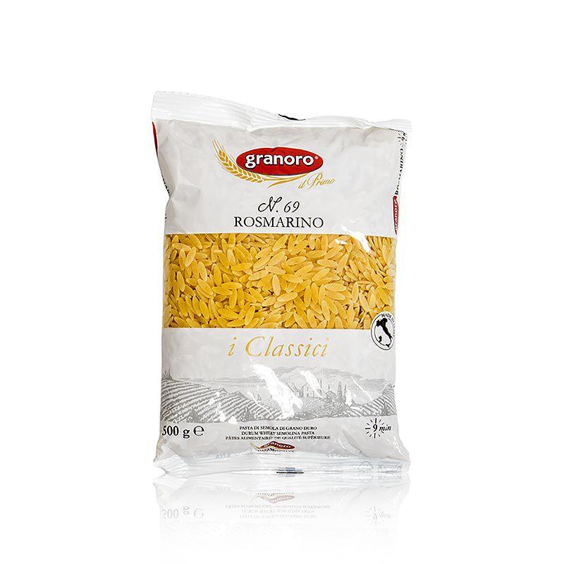 Granoro Rosmarino, rizsszemű tészta, közepes méretű, No.69.  (500 g)