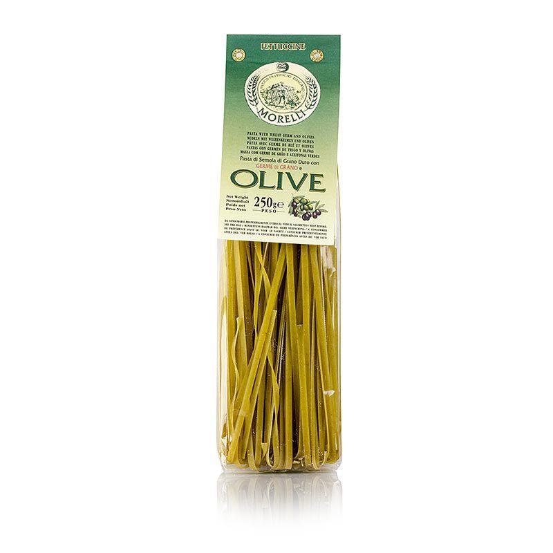 Morelli 1860 Fettuccine, oliva és búzacsírával  (250 g)