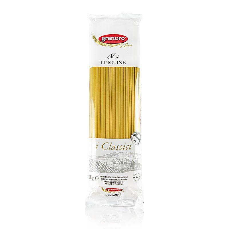 Granoro Linguine, szalag tészta, 2mm, No. 4  (12 kg, 24 x 500g)