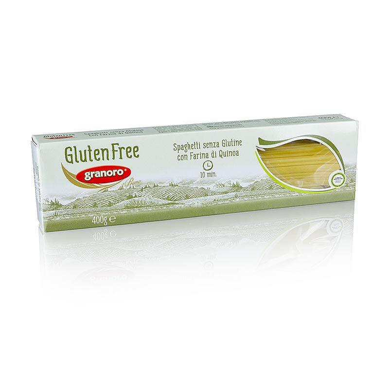 Granoro Spagetti, Quinoával, gluténmentes, No.472  (4,8 kg, 12 x 400 g)