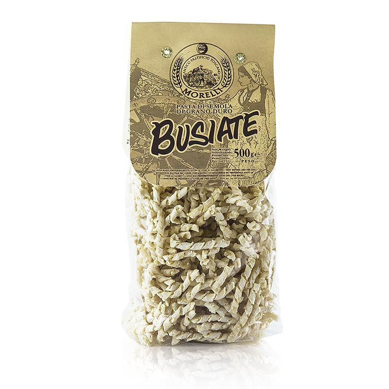 Morelli 1860 Busiate, Germe di Grano, búzacsírával 500 g