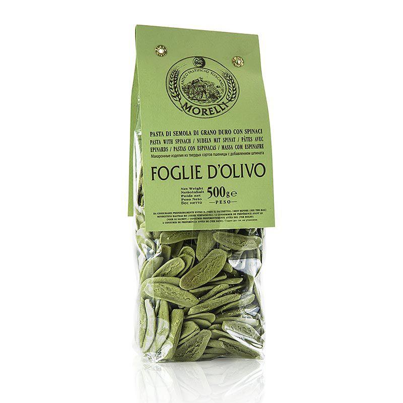Morelli 1860 Foglie d´olivio, spenóttal  (500 g)