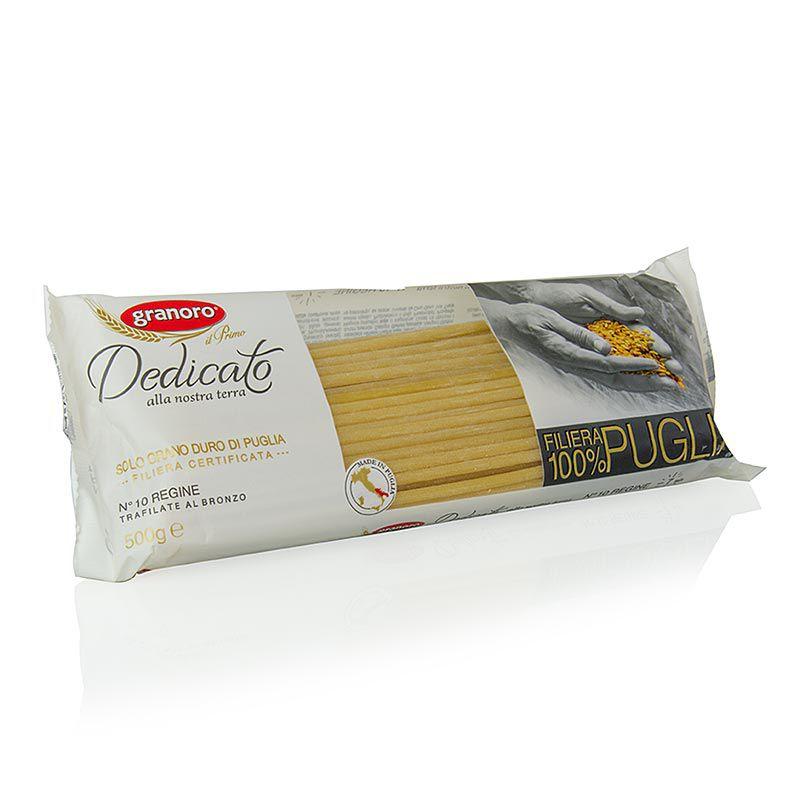 Granoro Dedicato - Regine Maccaroni, No.10. (10 kg, 20 x 500 g)