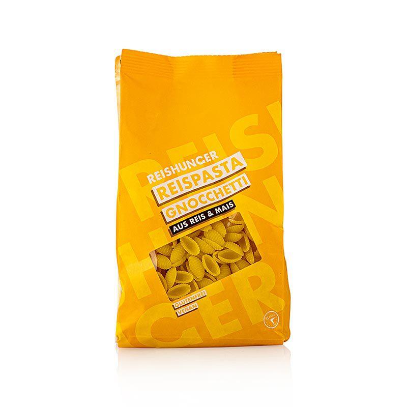 Rizstészta - Gnochetti, kukorica & Rizs, Reishunger, 400 g
