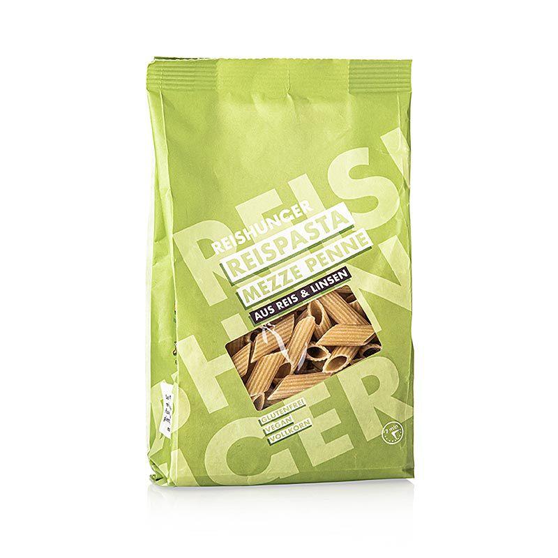 Rizstészta - Mezze Penne, Lencse & Rizs, Reishunger, 240 g