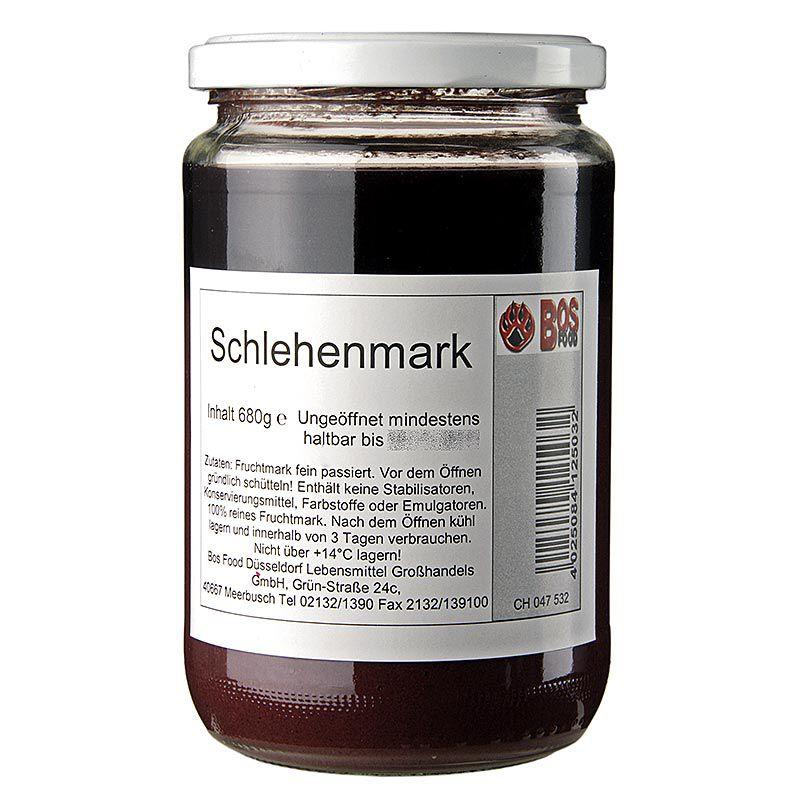Püré / pép - Kökény, finomra préselt 680 g