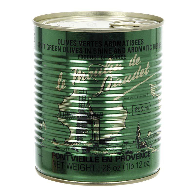 Olajbogyó zöld, maggal, provence-i fűszerekkel, ARNAUD,  800 g