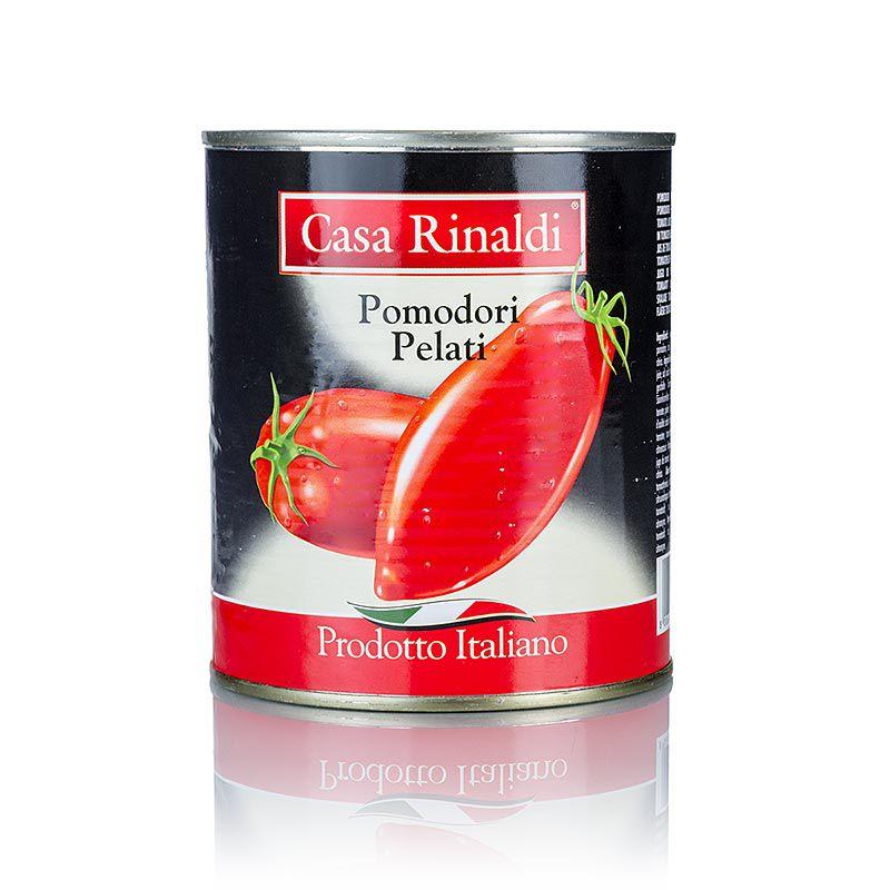 Hámozott paradicsom, egész , Casa Rinaldi, 800 g