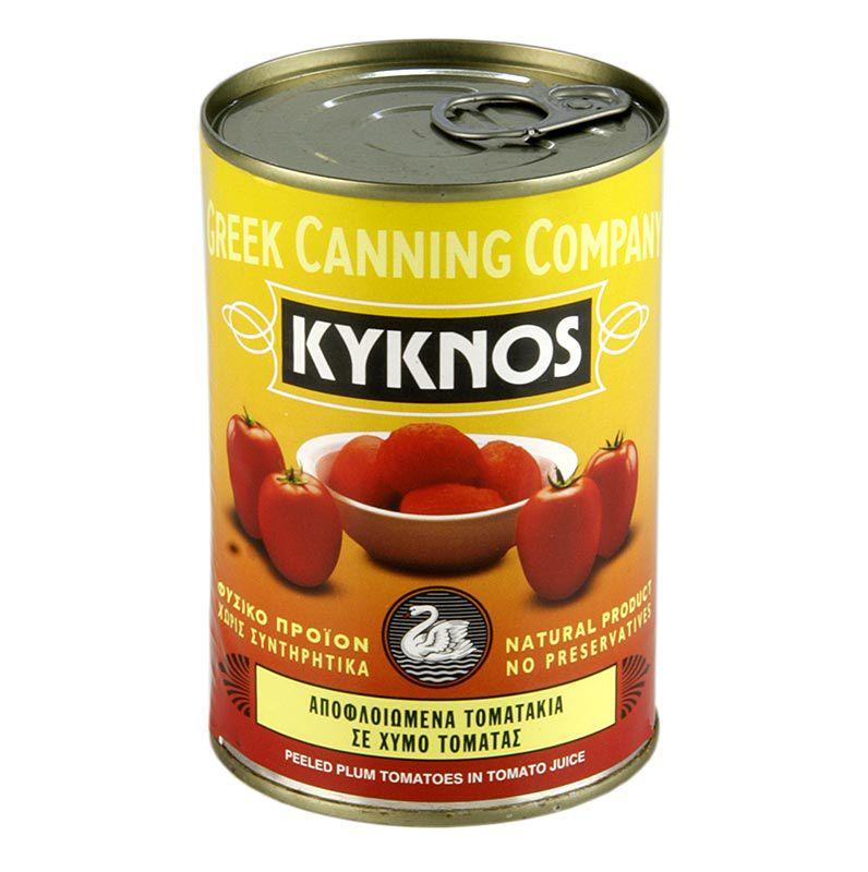 Hámozott paradicsom egészben, Kyknos, Görög, 400 g