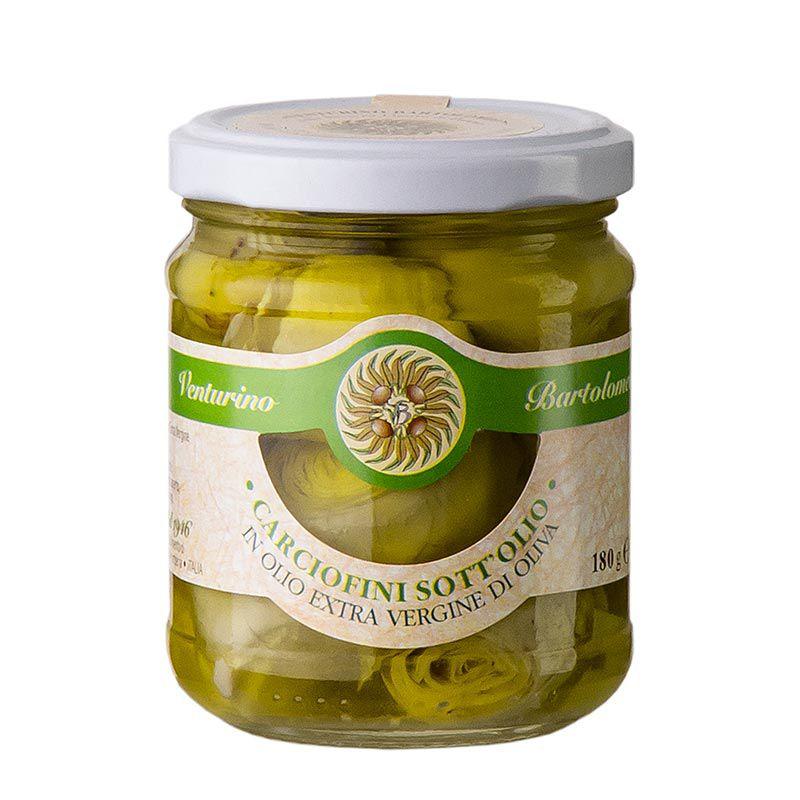 Articsóka - Carciofini sott´olio, olívaolajban, VENTURINO,  180 g