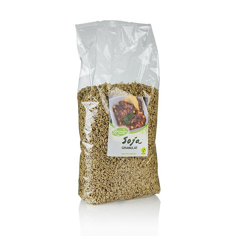 Szója Granulát, vegán, Vantastic Foods 1,5 kg