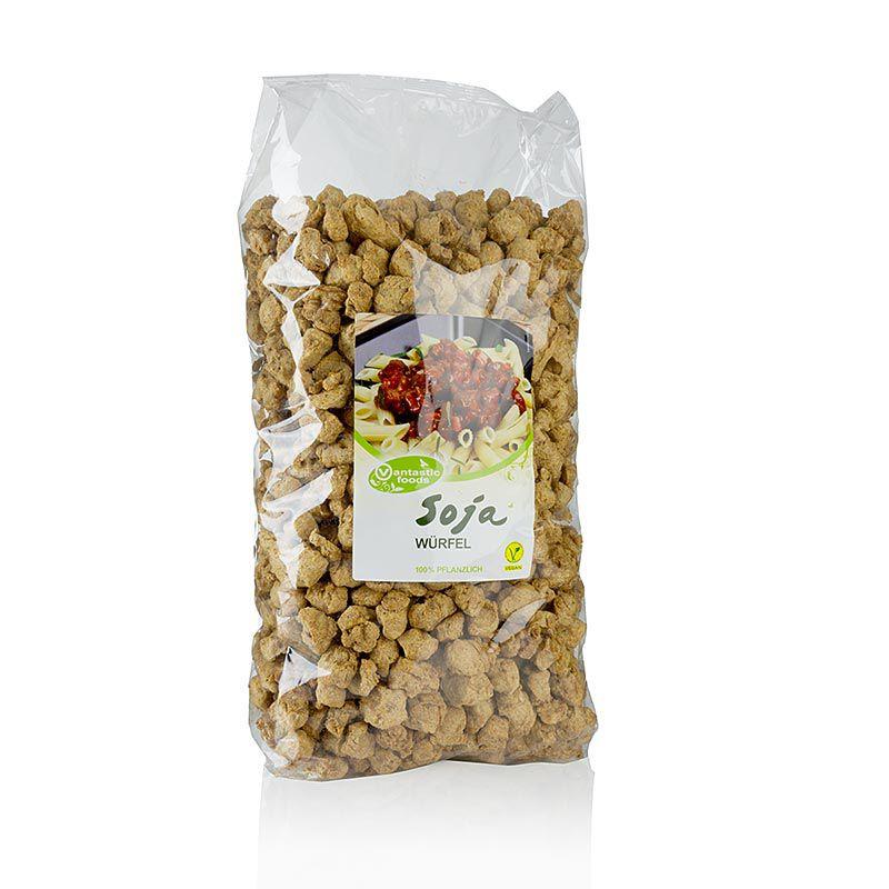 Szója kockák, vegán, Vantastic Foods 1,5 kg