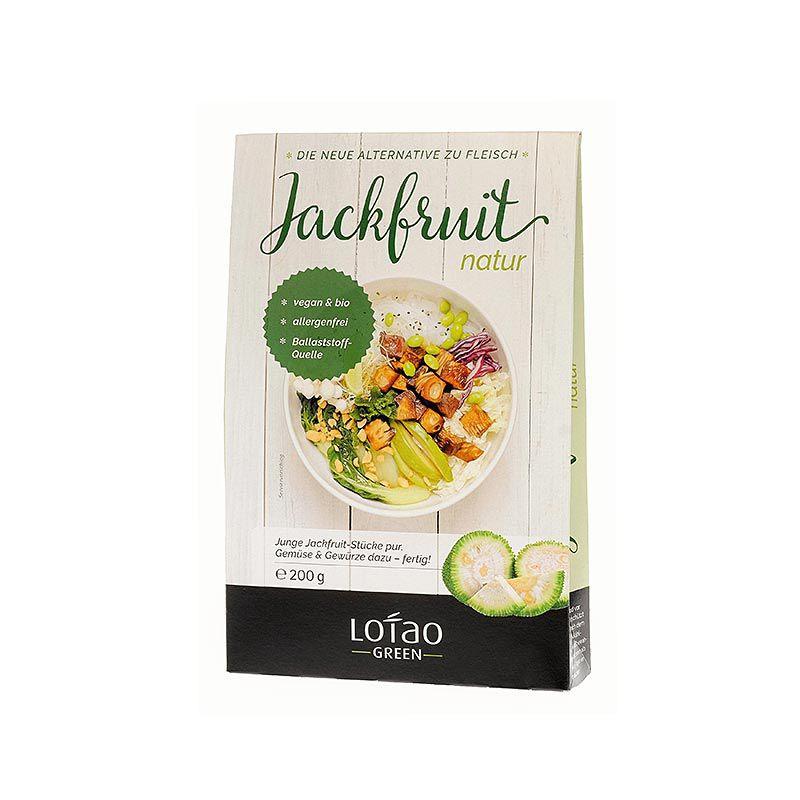 Jackfruit, natur, kockázott, vegán, Lotao, BIO 200 g