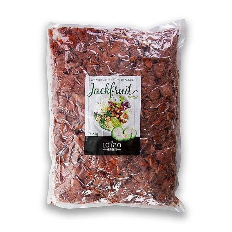 Jackfruit, natur, kockázott, vegán, Lotao, BIO 2 kg