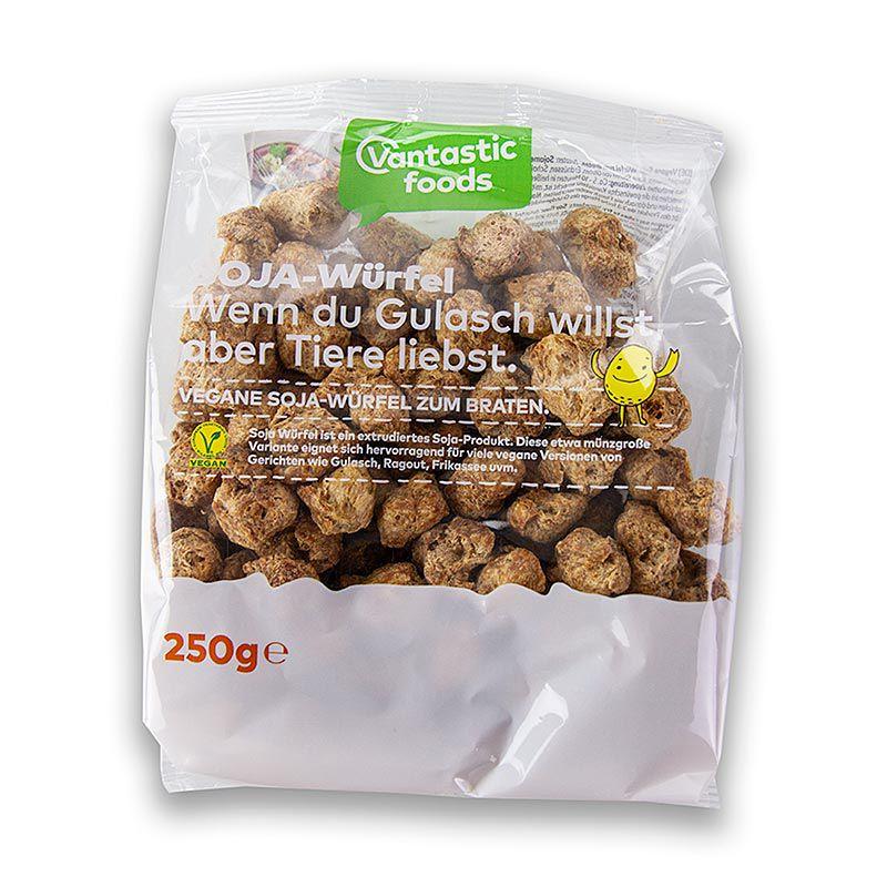 Szója kockák, vegán, Vantastic Foods 250 g