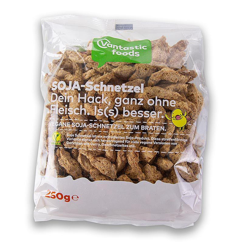 Szója Schnetzel, vegán,, Vantastic Foods 250 g