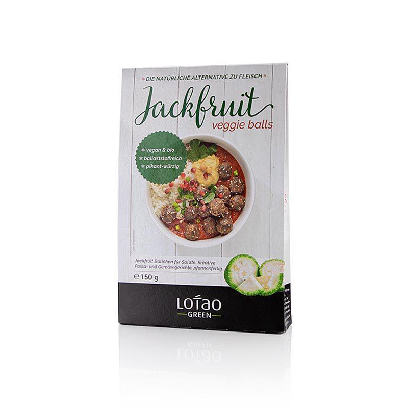 Jackfruit Veggie Balls, vegán, Lotao, BIO 150 g