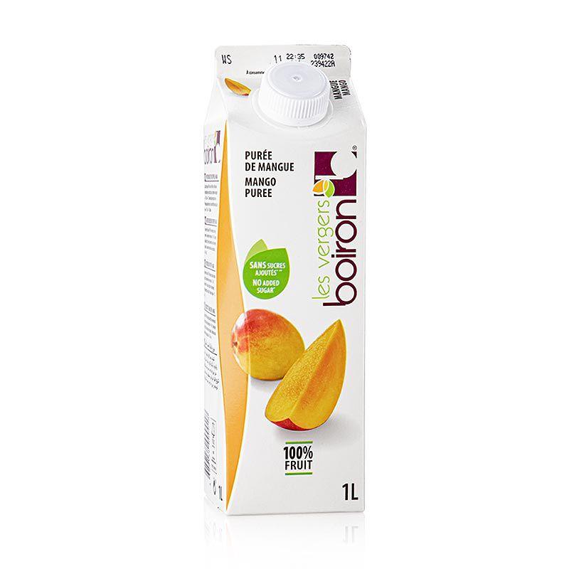 Boiron - Mangó püré, pasztőrözött, 100% gyümölcs, 1 l